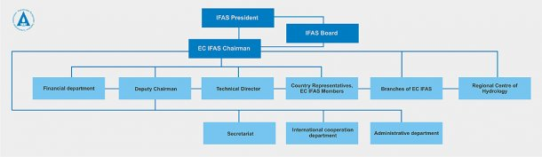 Organizational structure of EC IFAS